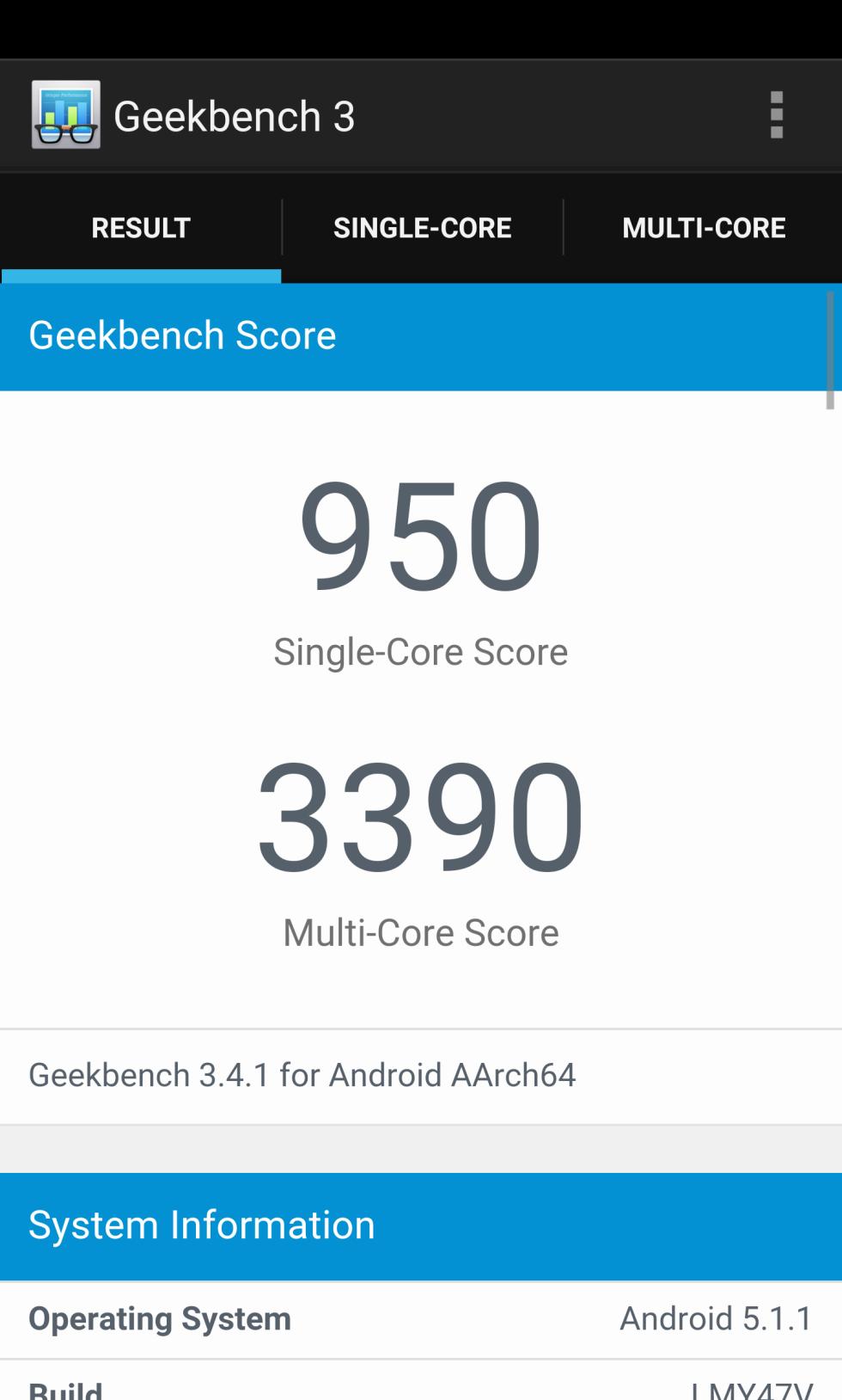 Pruebas de rendimiento y benchmarks del LG V10