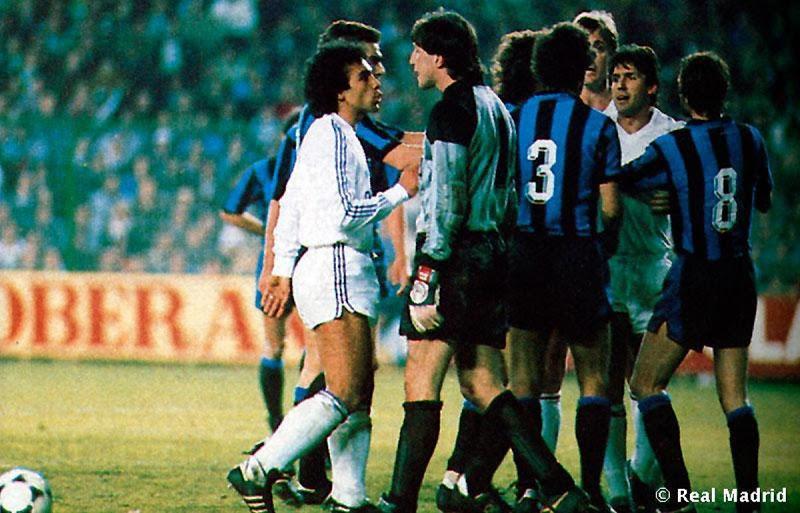 1986: Después de perder 3-1 en Milán, el Real Madrid tuvo que ir a la prórroga para ganar 5-1 al Inter.
