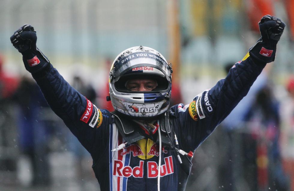 Red Bull consiguió en Shanghai su primera victoria en la F1, en 2009 con Sebastian Vettel
