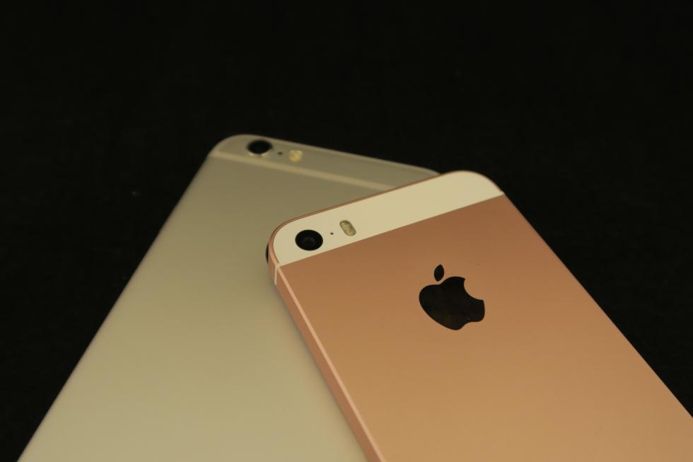 Apple iPhone SE contra iPhone 6S