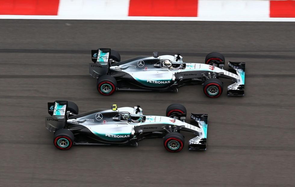 La escudería Mercedes ha ganado 39 de las últimas 41 carreras disputadas