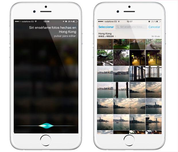 Cómo hacer que Siri muestre fotos por fecha y ubicación en iPhone