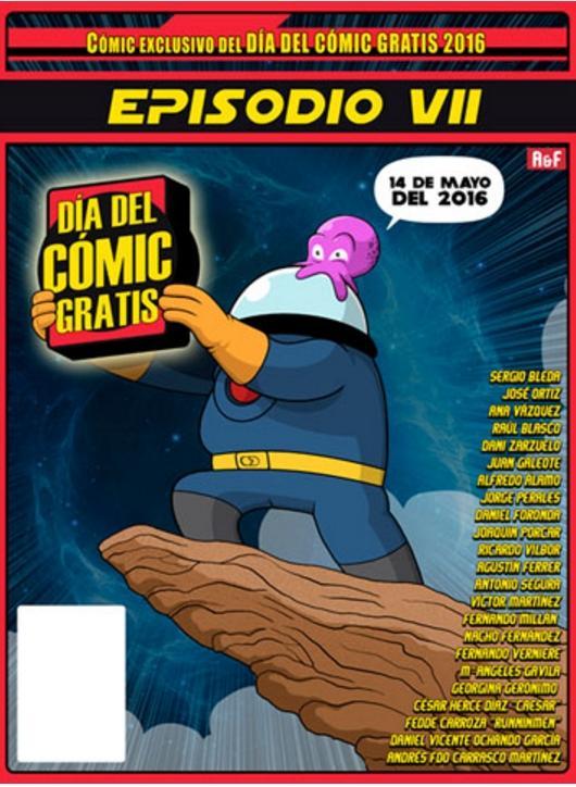 Día del Comic Gratis 2016