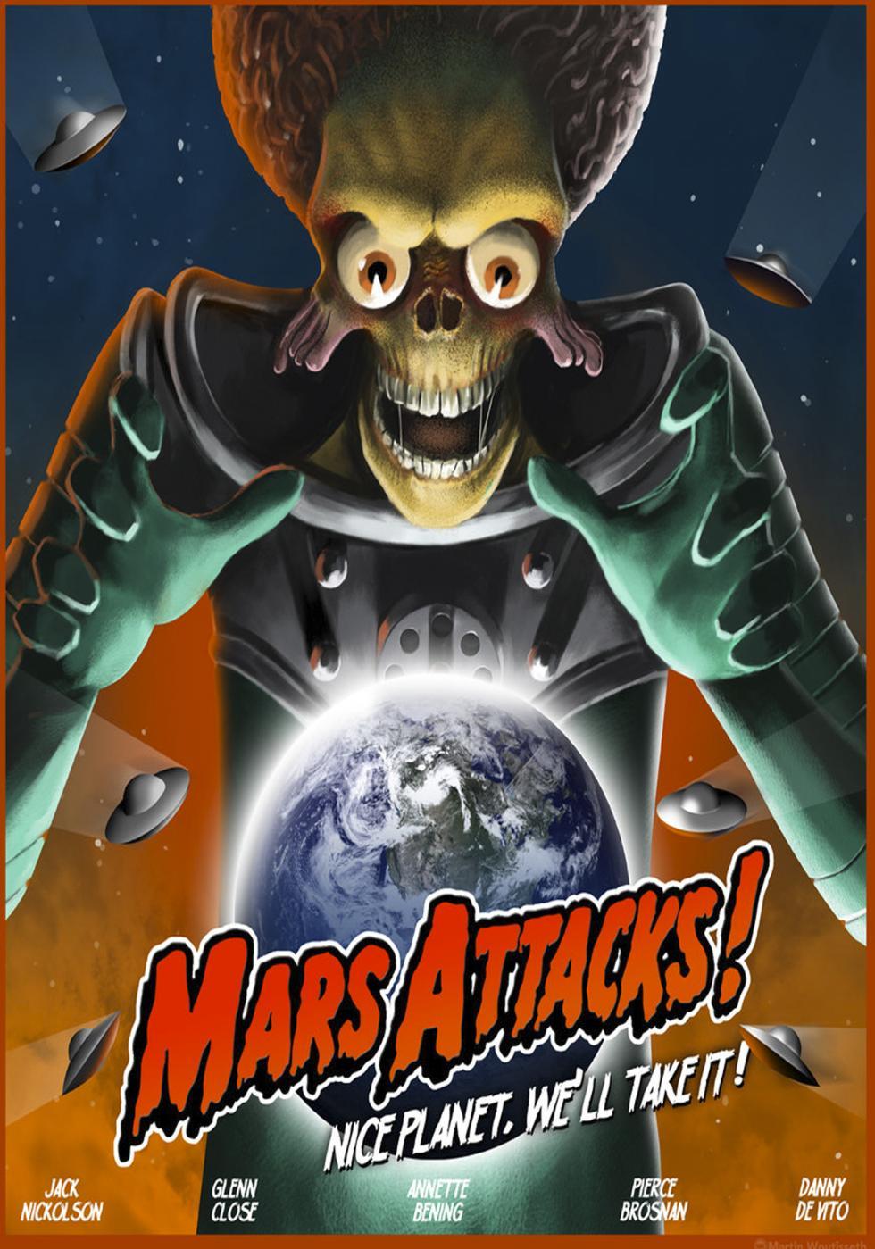 Quizás no sea una película infravalorada porque tiene mucho de película de culto. En cualquier caso, Mars Attack es una parodia de Tim Burton muy inteligente que introduce críticas a la sociedad americana y a los humanos como especie de forma sutil pero cómica.