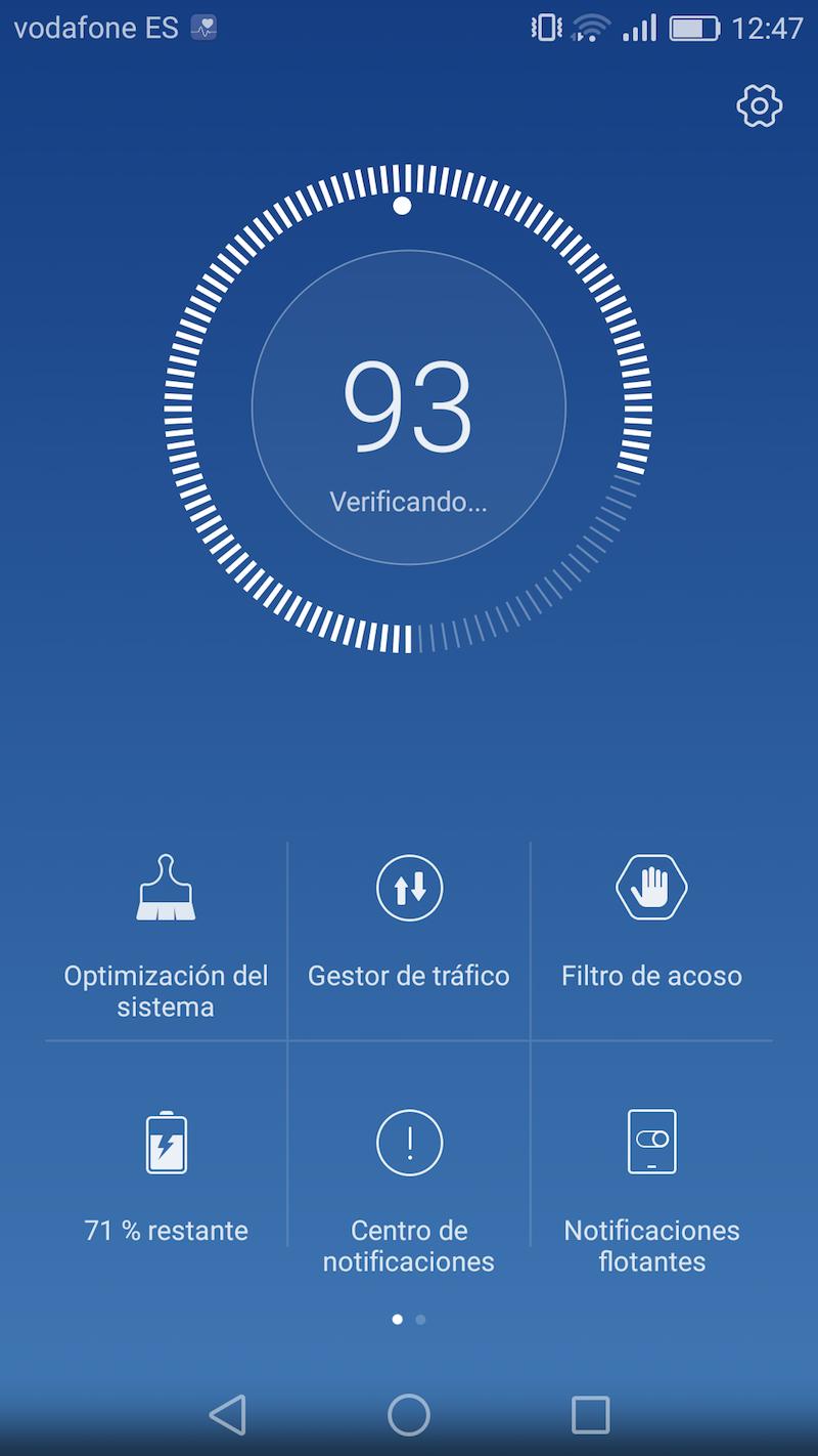 Huawei P9 Lite: interfaz de EMUI 4.1