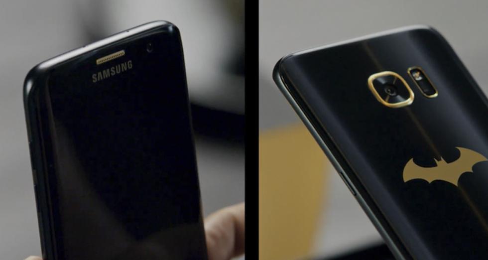 Imágenes del Galaxy S7 Edge Injustice Edition