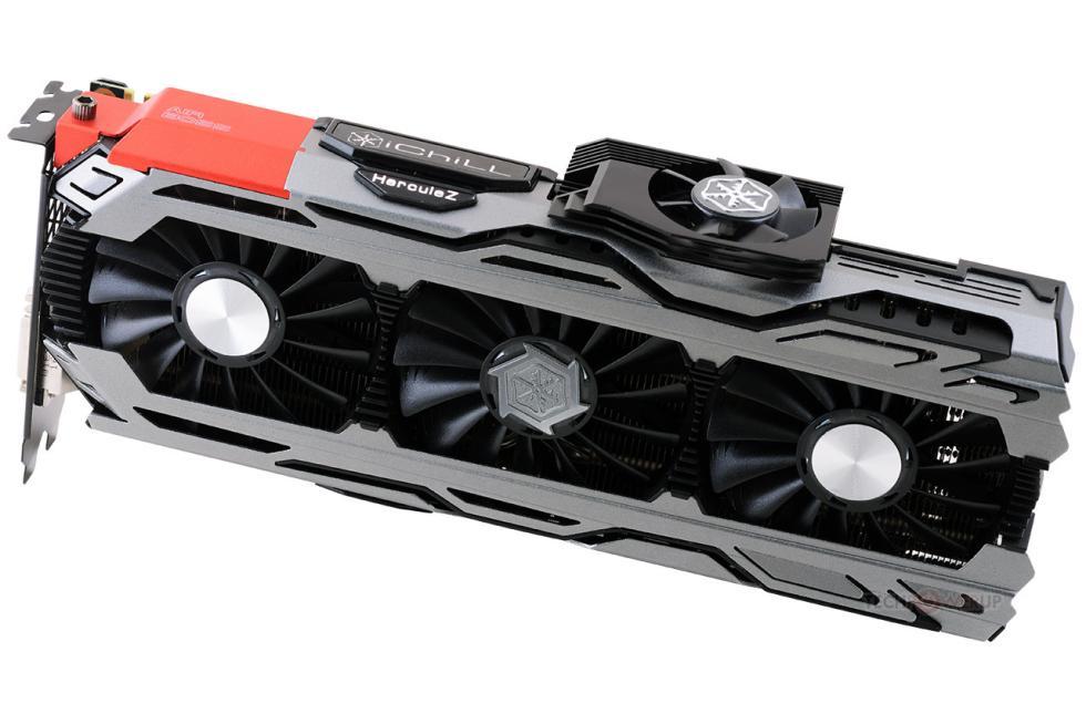 Inno3D GTX 1080 ichill X4 con disipador mejorado y ventilador lateral