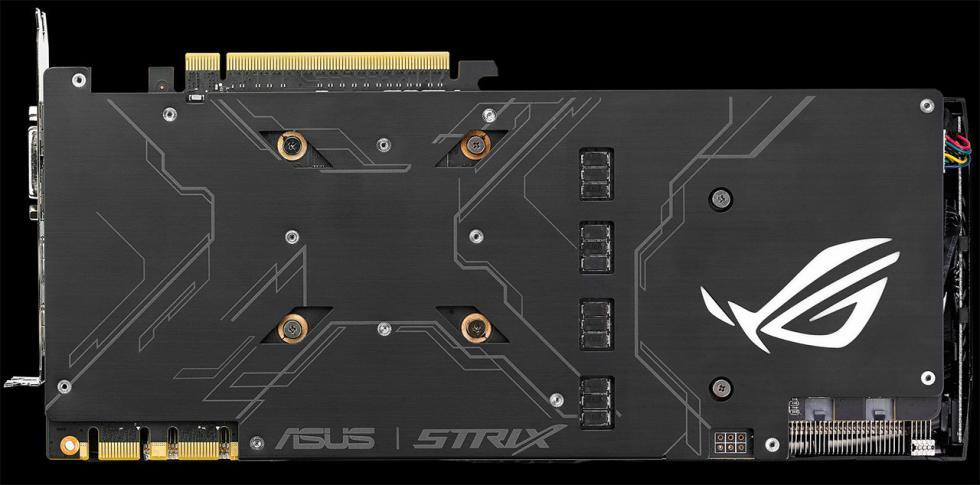 Asus GTX 1080 ROG Strix con disipador DirectCU III, iluminación RGB Aura y OC de 1936 MHz