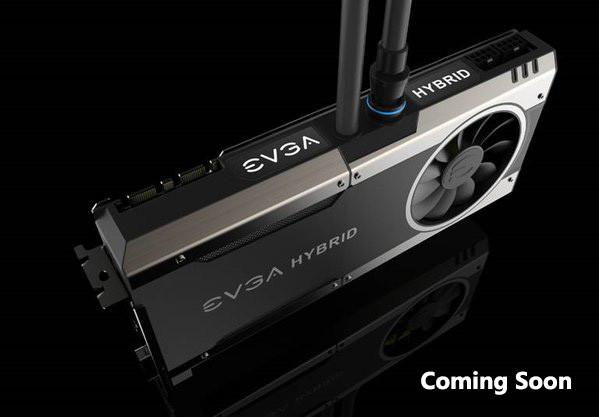 EVGA GTX 1080 Hybrid con refrigeración líquida y OC