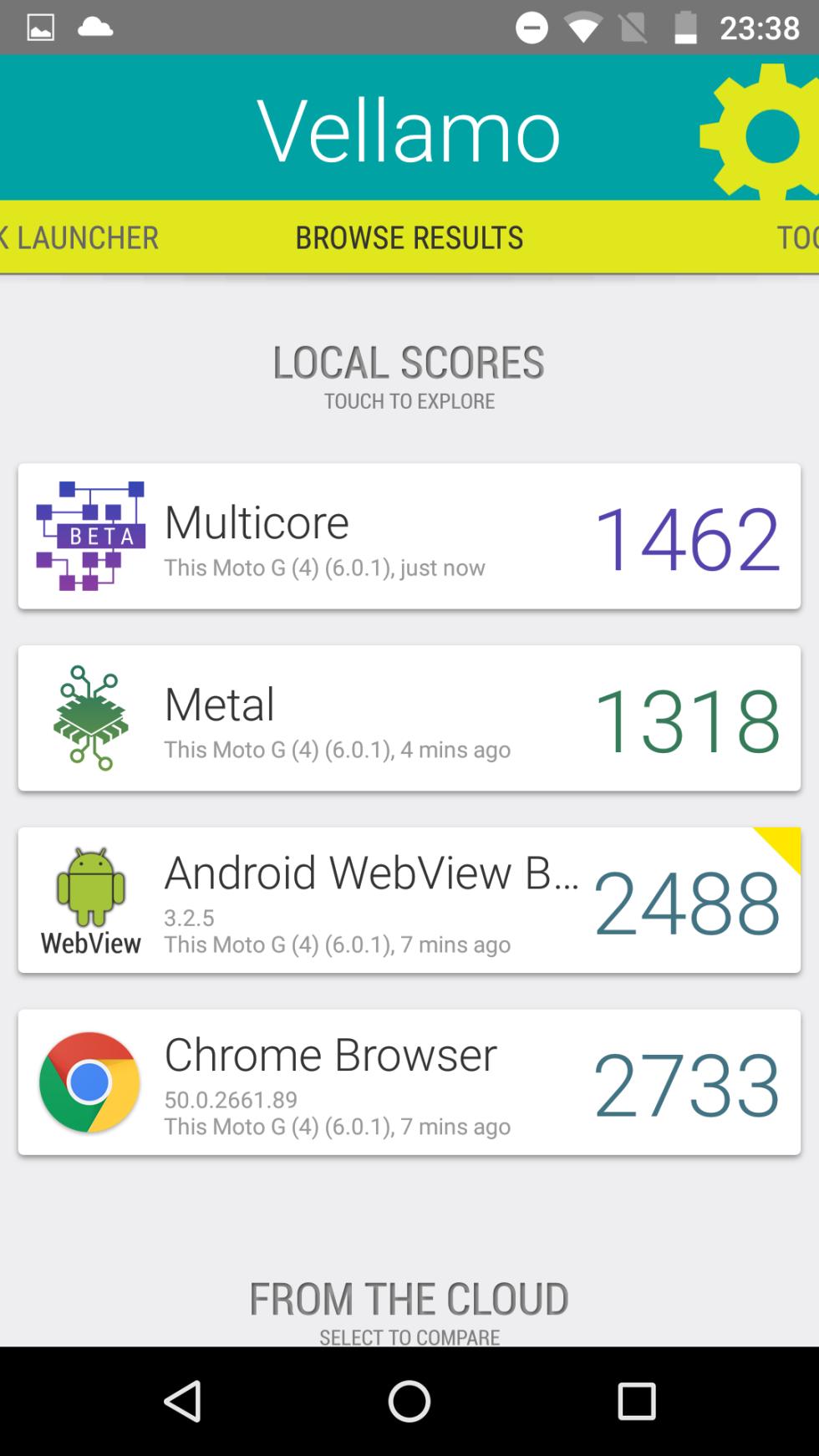 Moto G4 Plus: pruebas de rendimiento y benchmarks