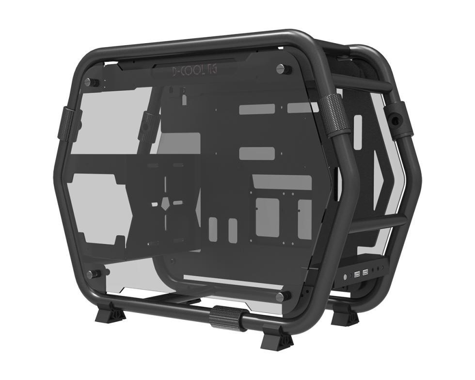 Id Cooling Stream, un chasis de PC tubular con una estructura preparada para RL