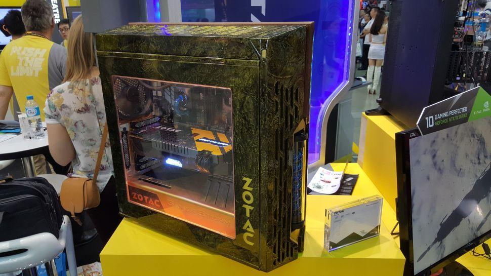 Case mod con un diseño estilo Fallout