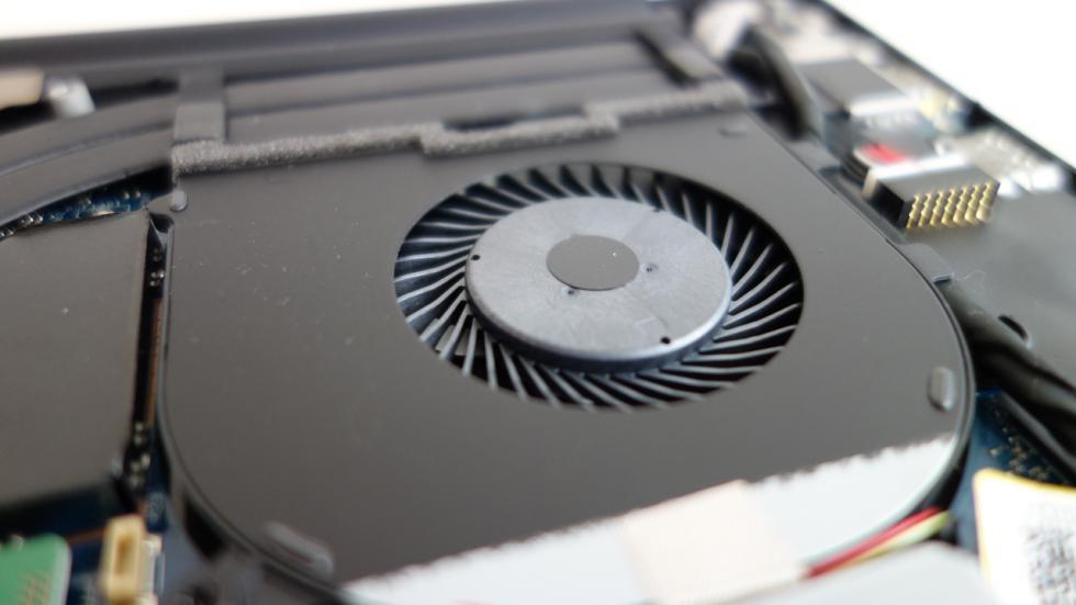 Dell XPS 15 ventilador