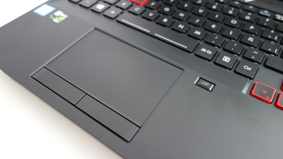 Acer Predator 15, imagen del touchpad
