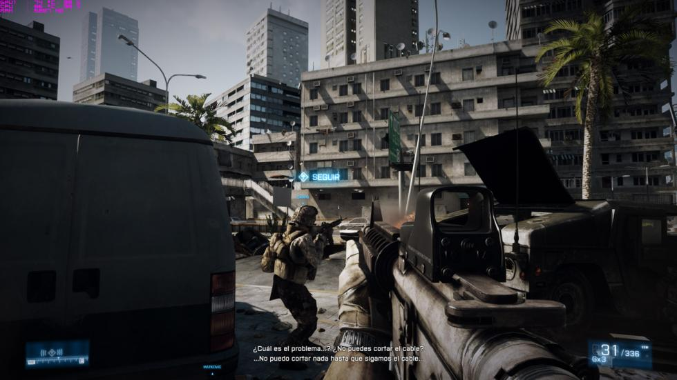 acer predator 15, captura del Battlefield 3