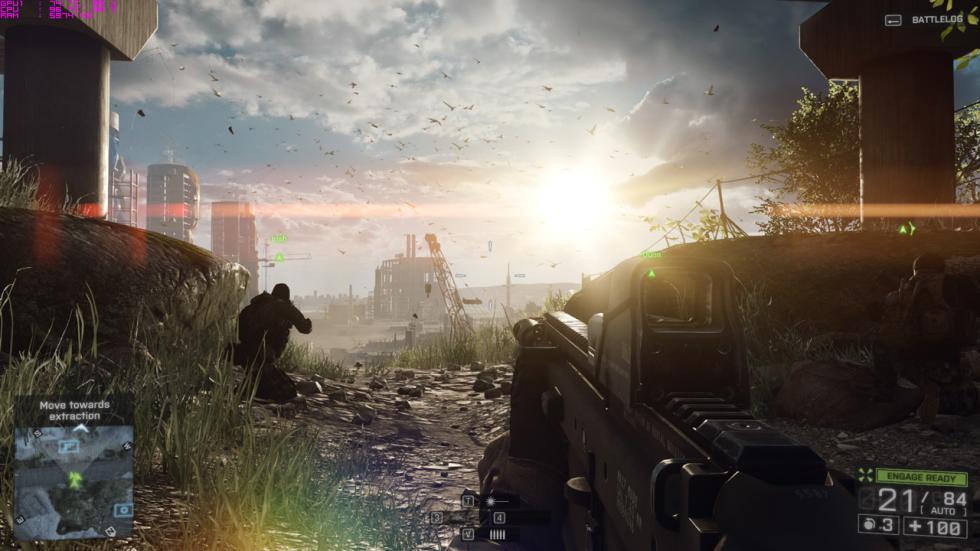 acer predator 15, captura del Battlefield 4