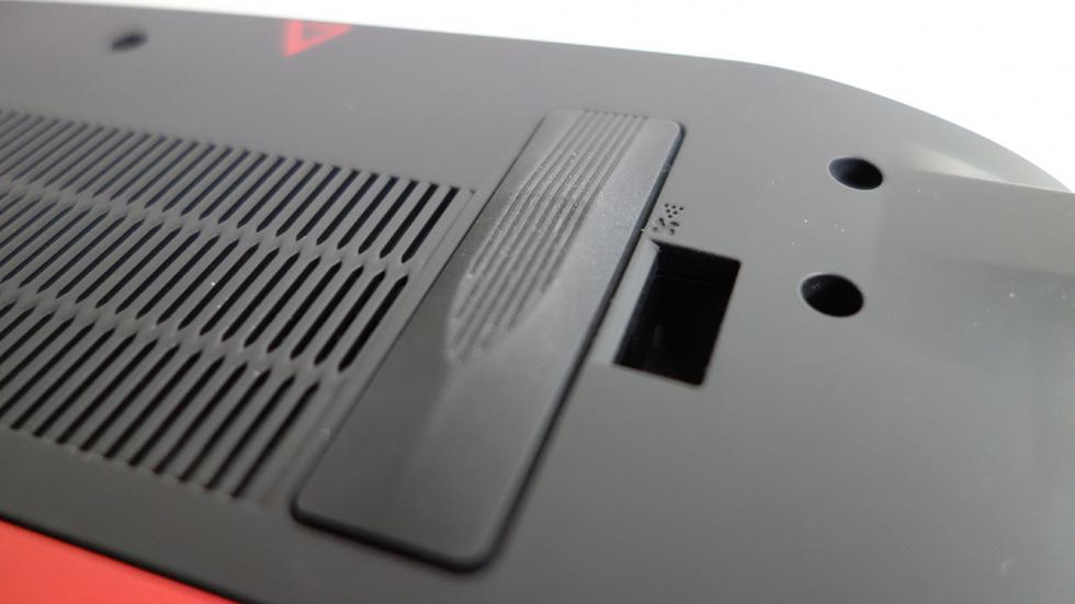 Acer predator 15, imagen del dust defender