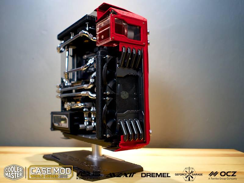 Master of Dimension, primer clasificado del case mod world series 2016 categoría tower mod