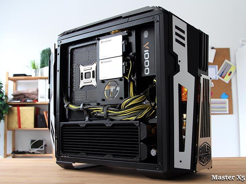 Master X5, tercer clasificado del case mod world series 2016 categoría tower mod
