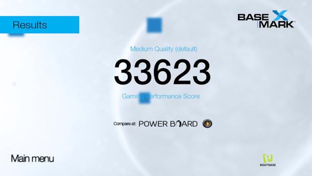 OnePlus 3 Basemark X