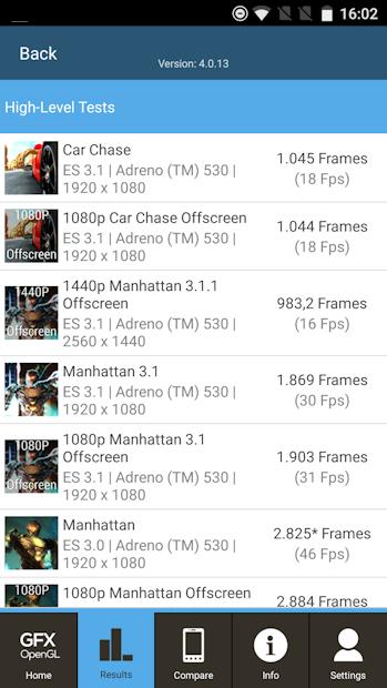 OnePlus 3 GFXBench