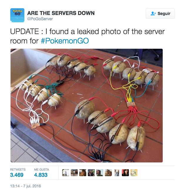 Los servidores de Pokémon Go