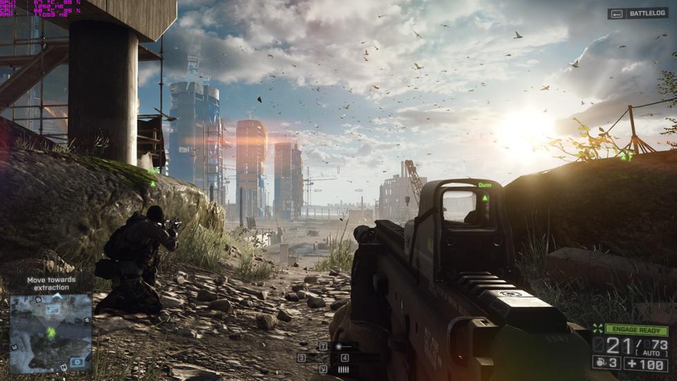 Battlefield 4 con el Lenovo Y700