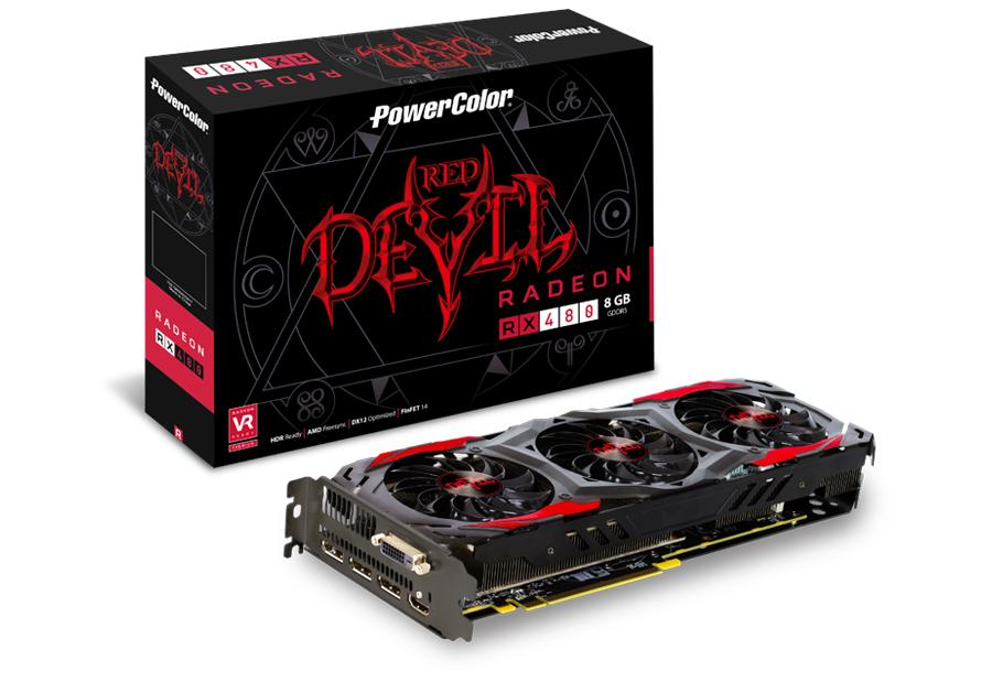 Powercolor RX 480 Red Devil