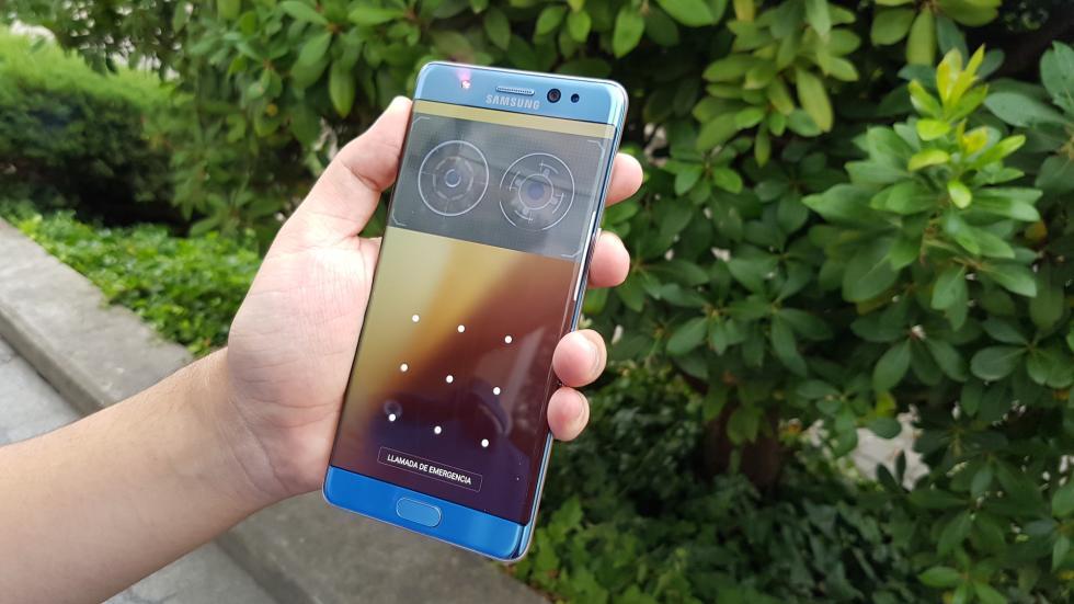 Galería de imágenes del Samsung Galaxy Note7: el phablet más versátil