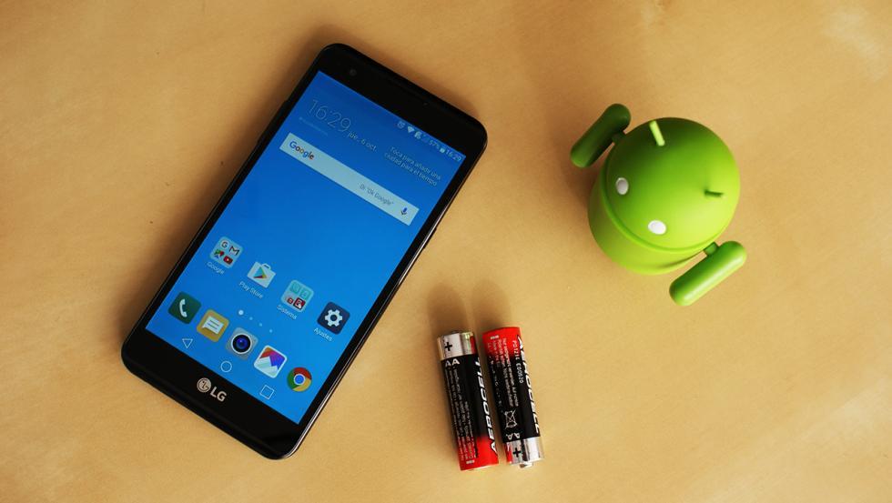imágenes del LG X power