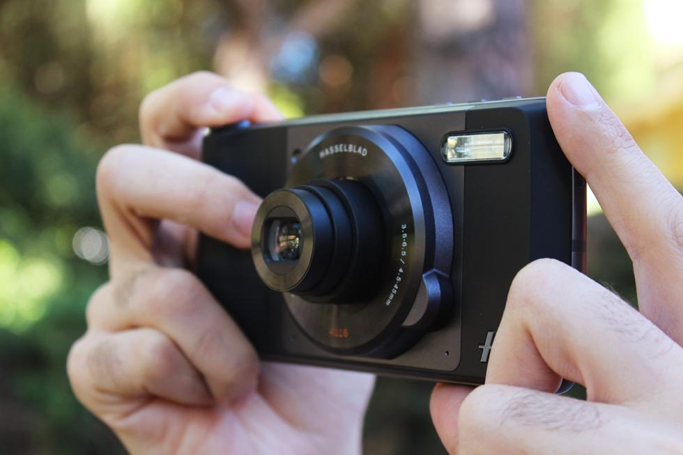 Imagen del Moto Z con el Hasselblad True Zoom