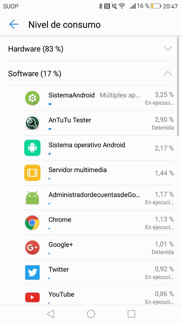 Batería del Huawei Mate 9