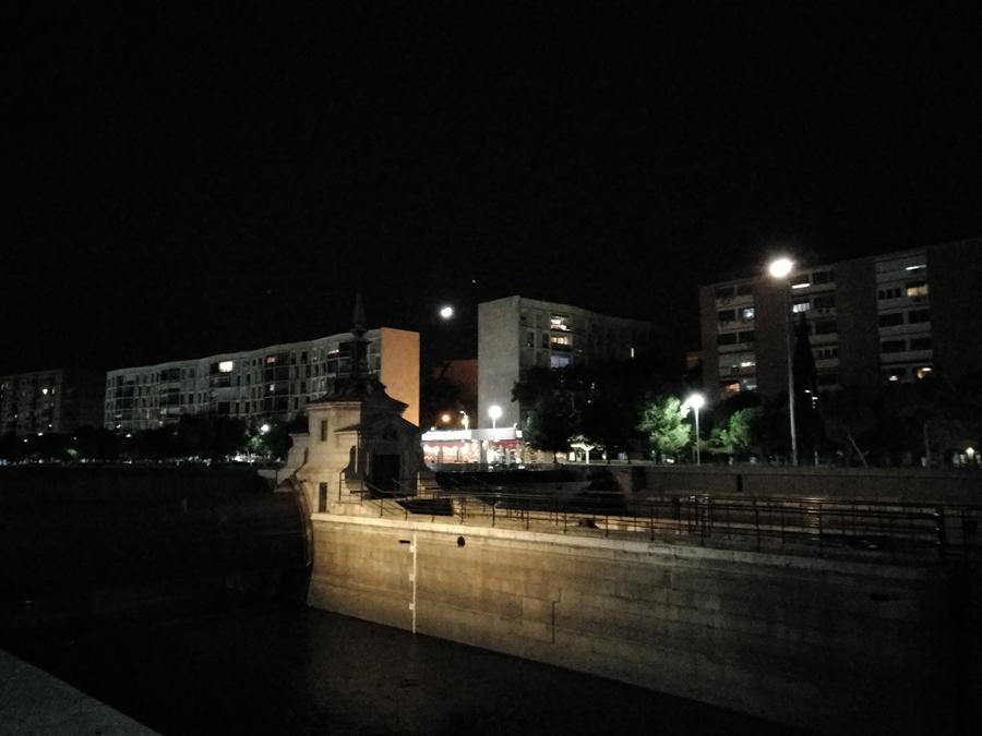 Fotografía nocturna realizada con el Nubia Z11