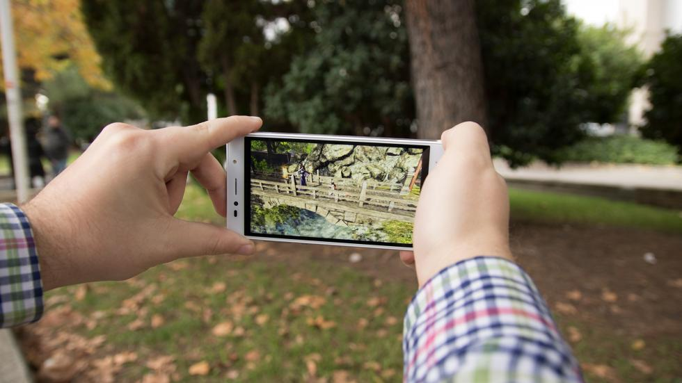 Imagen del Intex Aqua Shine 4G