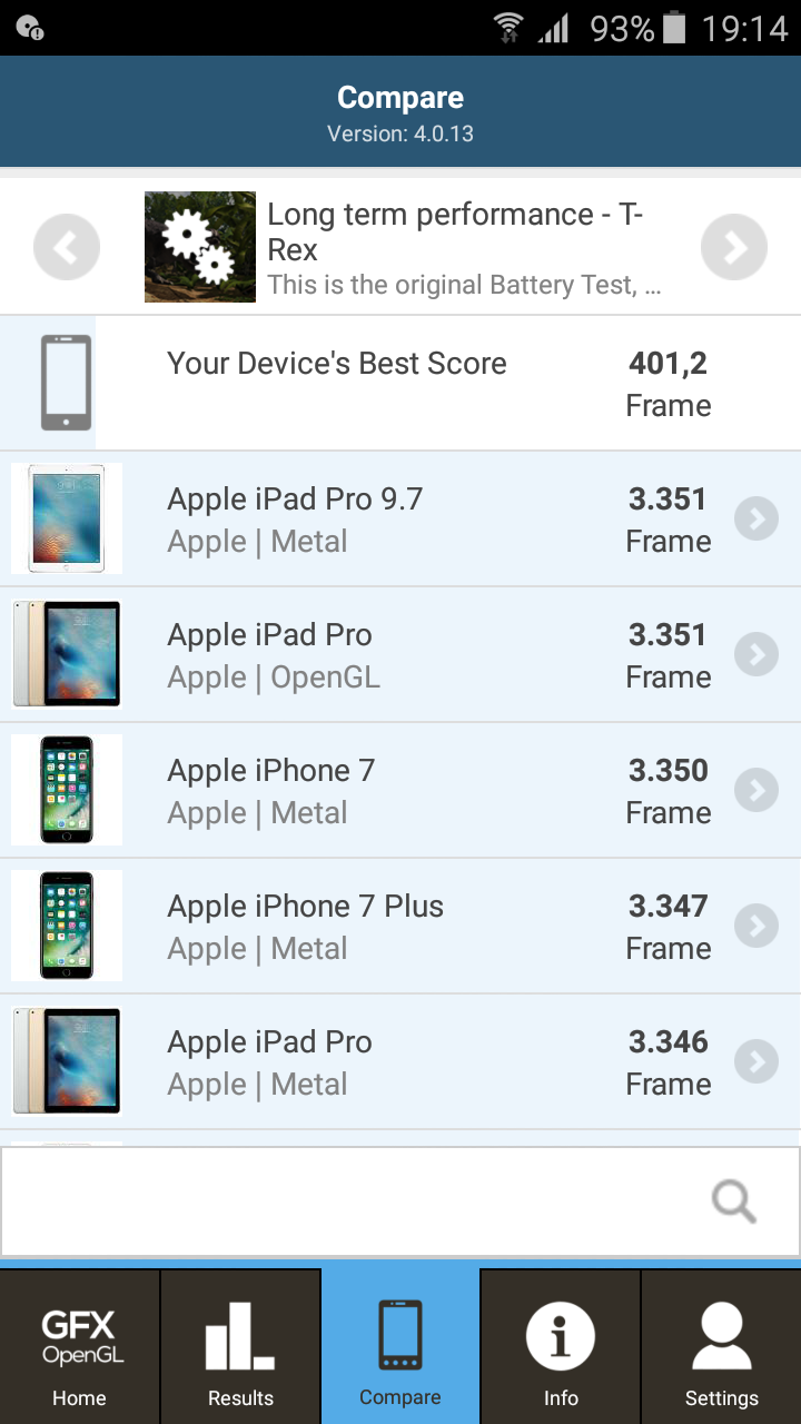 Resultados del Samsung Galaxy J3 (2016) en los benchmark