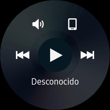 Aplicación del reproductor de música