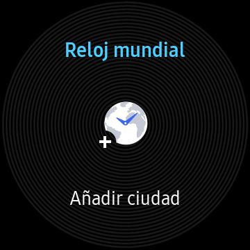 Aplicación de Reloj Mundial