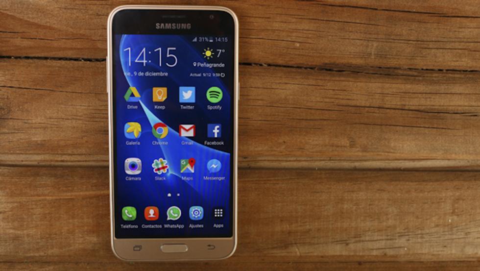 Fotografía del Samsung Galaxy J3 (2016)
