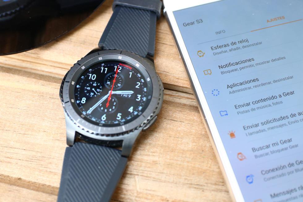 Fotografías del Samsung Gear S3