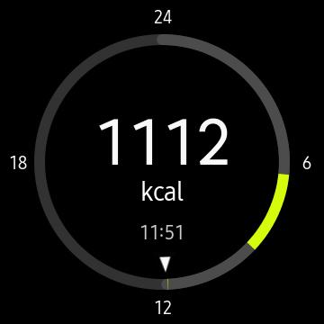 Galería de la aplicación S Health del Samsung Gear S3