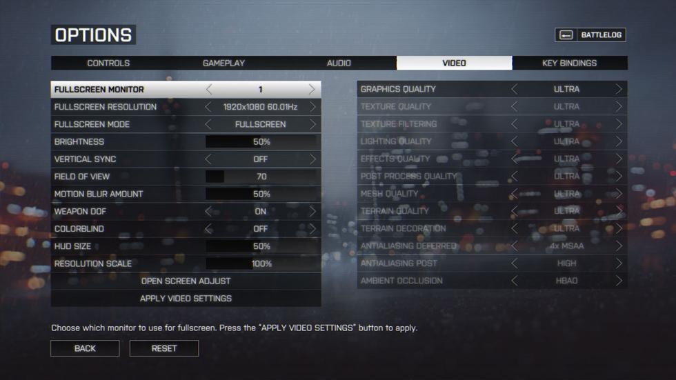 Battlefield 4 en el Gigabyte P57X