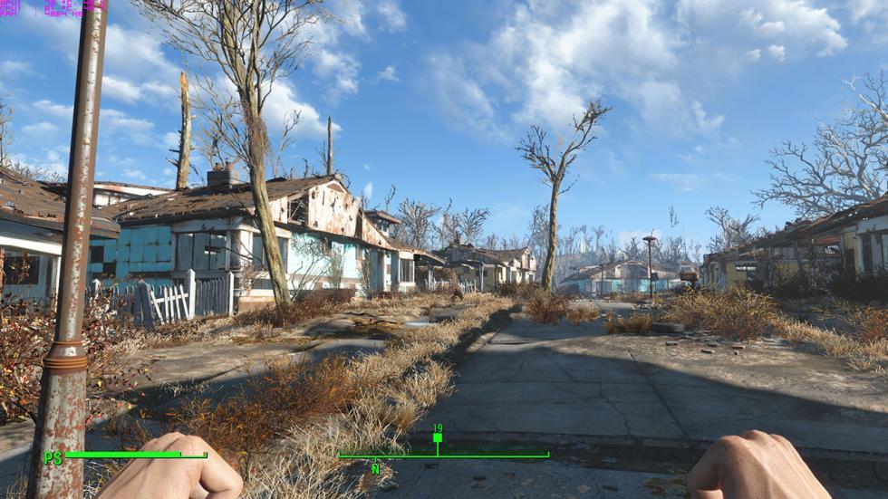 Fallout 4 en el Gigabyte P57X