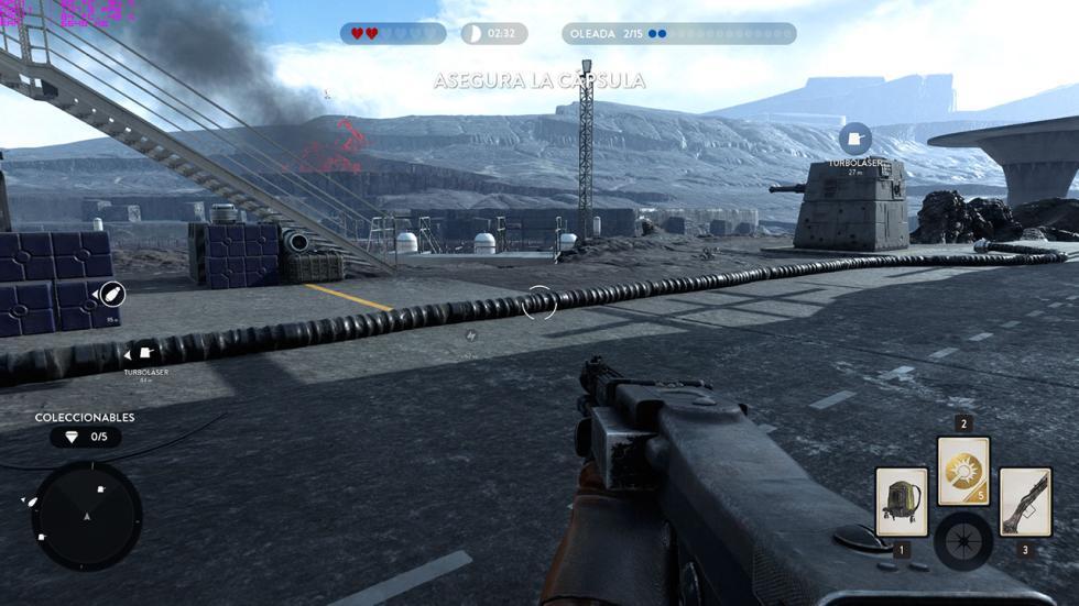 Starwars Battlefront en el Gigabyte P57X