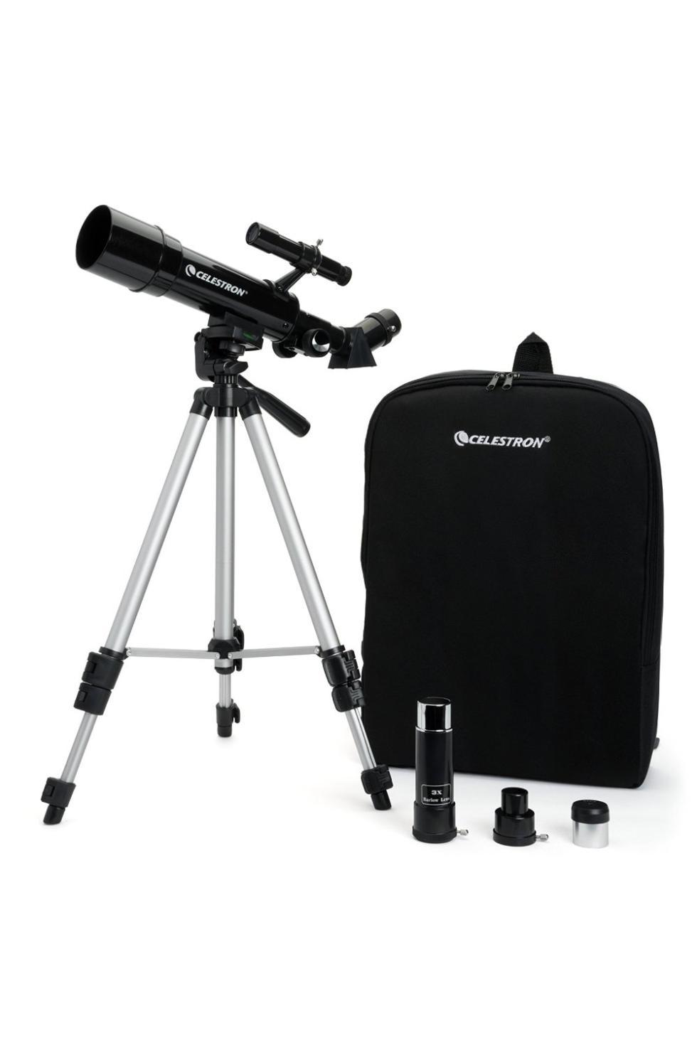 Telescopio de viaje