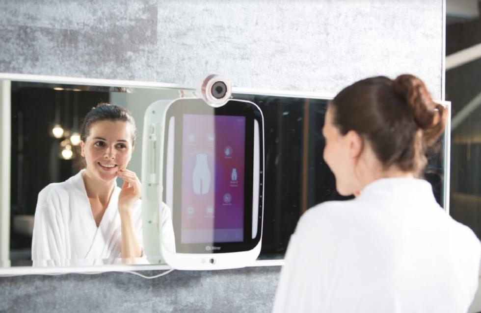 El espejo inteligente que analiza la calidad de tu piel