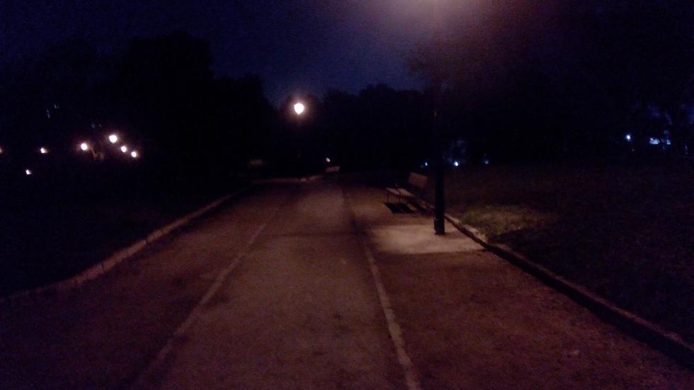 Fotografía nocturna realizada con el Wolder Wiam #65 Lite