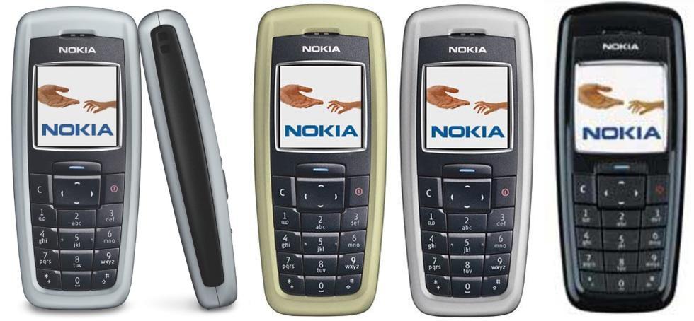 Nokia 2600 | Fecha de lanzamiento: 2004 | Millones de unidades vendidas: 135