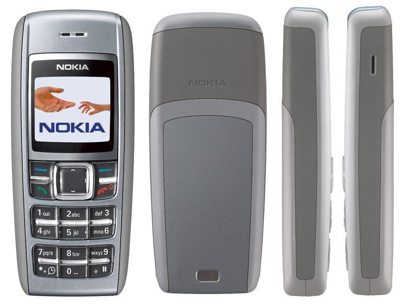 Nokia 1600 | Fecha de lanzamiento: 2006 | Millones de unidades vendidas: 130
