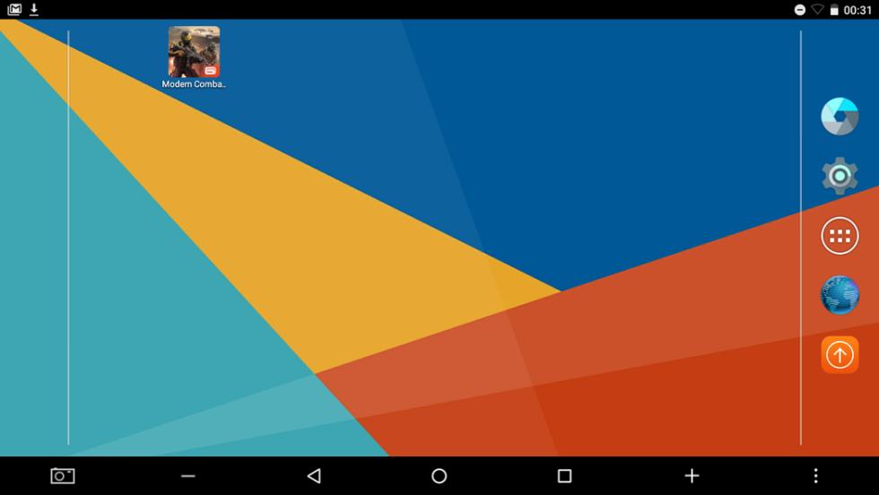 Y así es la interfaz de Android 6.0 Marshmallow en la Tbook 16
