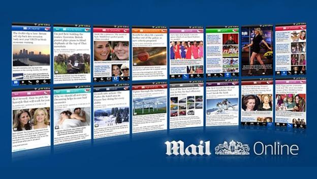 Aplicación de Daily Mail Online